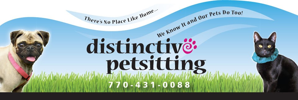 Distinctive pet sitting banner image